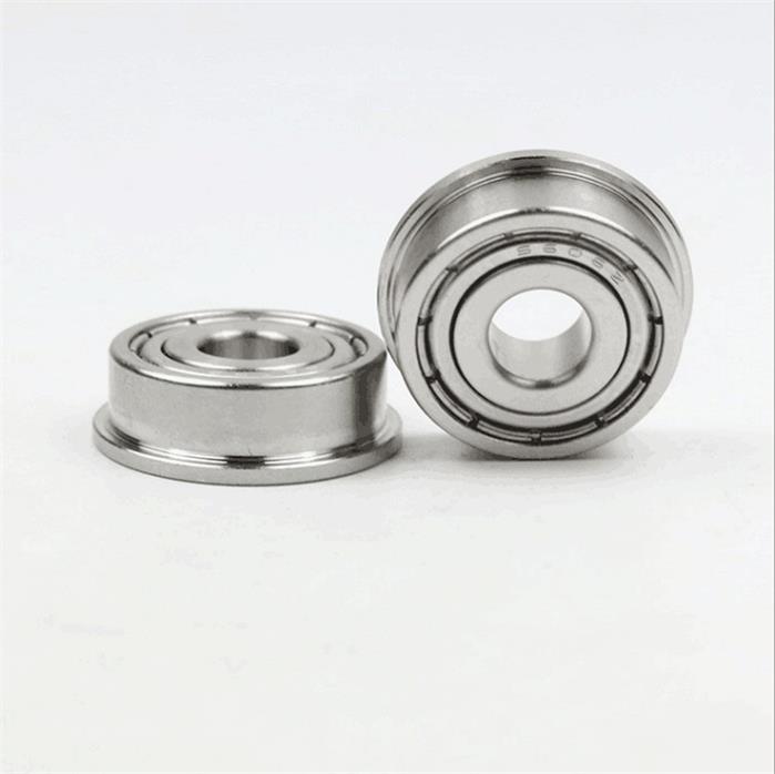 F627ZZ Miniature ball bearings with flange 7x22x7mm