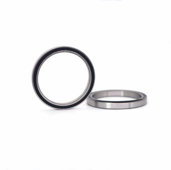 6702-2RS Shielded Cover Thin Wall Deep Groove Ball Bearings 15x21x4mm