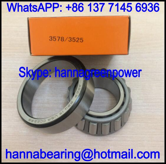 3578/3525 Single Row Tapered Roller Bearing 44.45x87.313x30.163mm