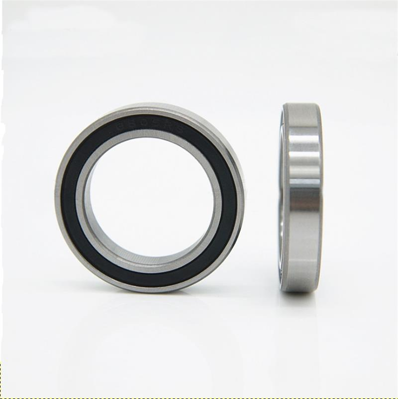 6013-2RS Rubber Sealed Miniature Deep Groove Ball Bearings 65x100x18mm