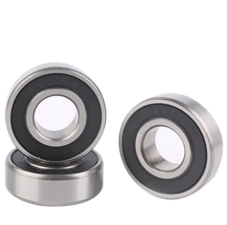 6011-2RS Rubber Sealed Miniature Deep Groove Ball Bearings 55x90x18mm