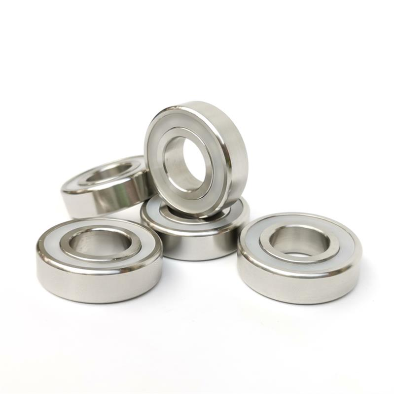 S6010-2RS Stainless Steel 316L Deep Groove Ball Bearing Waterproof Anti-corrosion Bearings 50x80x16mm