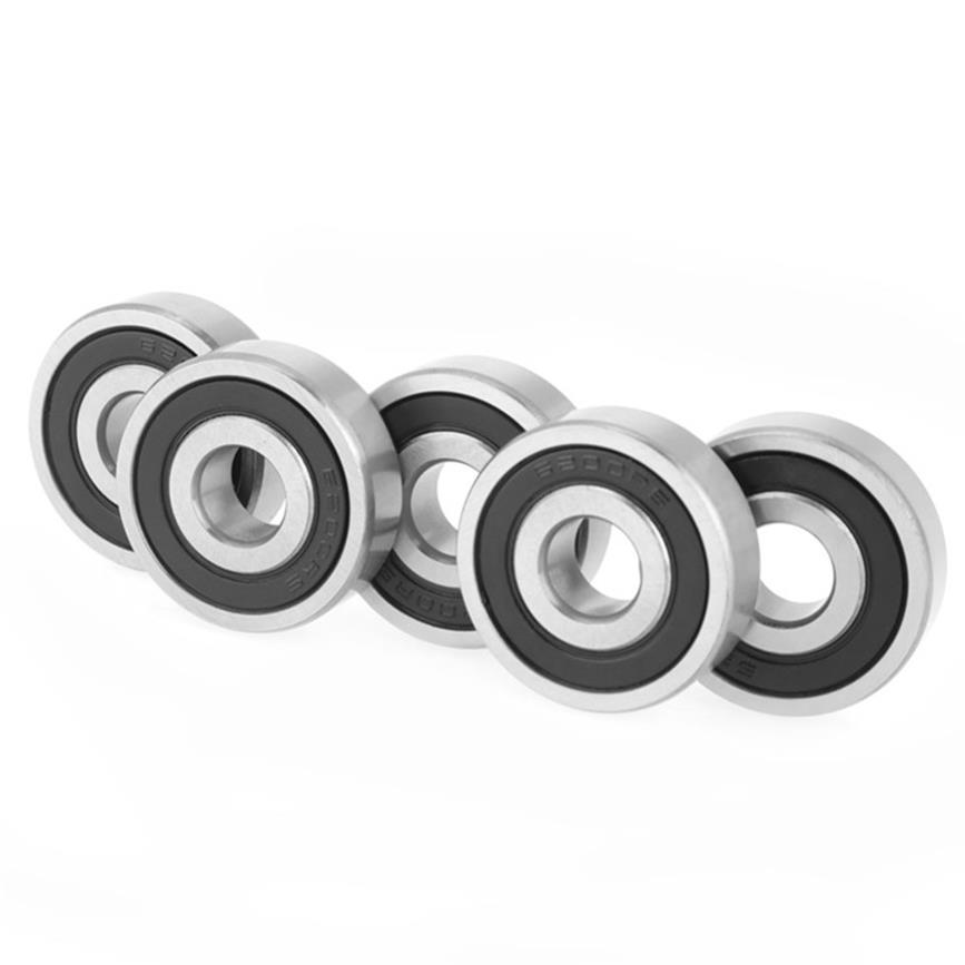 6200-2RS Double Rubber Sealing Cover Deep Groove Ball Bearings 10x30x9mm