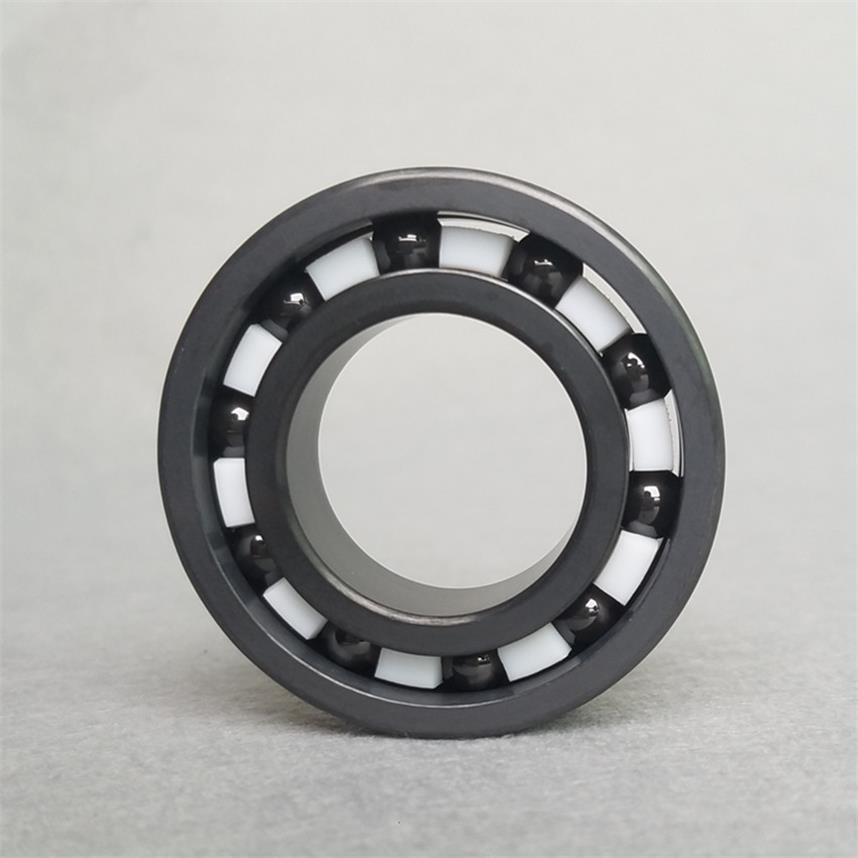 6910 Full SI3N4 Ceramic Deep Groove Ball Bearing 50*72*12mm