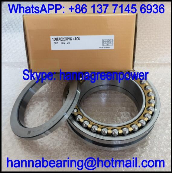 80TAC20X+L Thrust Ball Bearing / Angular Contact Bearing 80x125x54mm