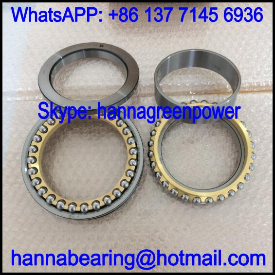 55TAC20X+L Thrust Ball Bearing / Angular Contact Bearing 55x90x44mm