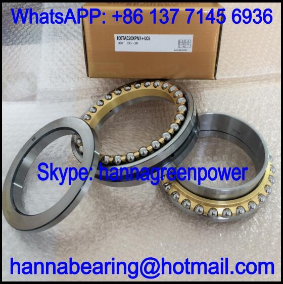 100TAC20X+L Thrust Ball Bearing / Angular Contact Bearing 100x150x60mm