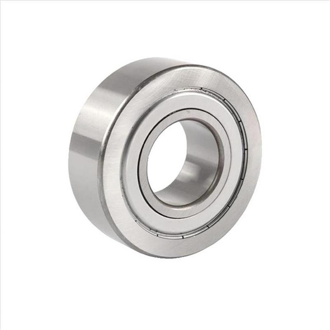 5203ZZ Axial Double Row Angular Contact Ball Bearings 17*40*17.5mm