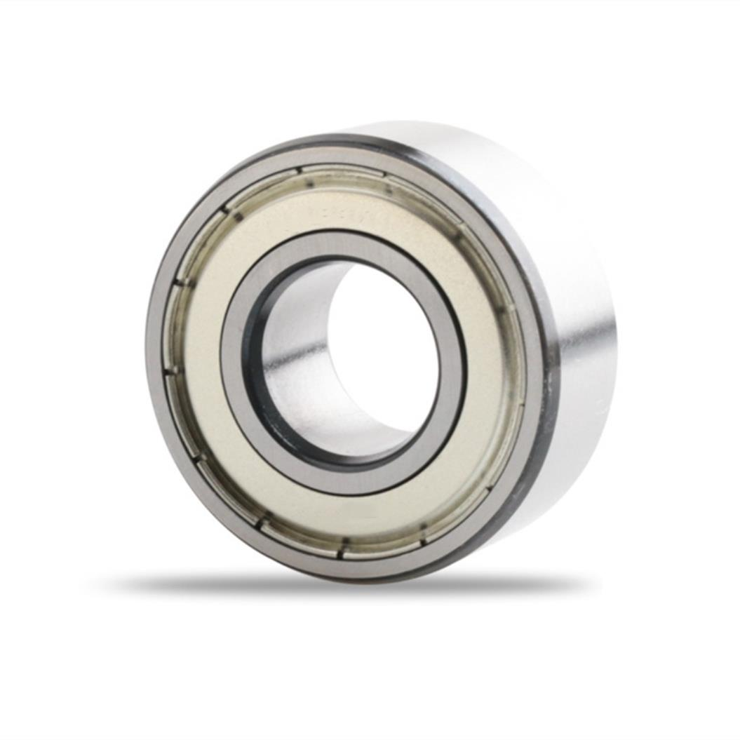 5302ZZ High Speed Double Row Angular Contact Ball Bearings 15*42*19mm