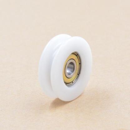 0632UU door pulley plastic covered mute U slot embedded bearing 6*32*10mm