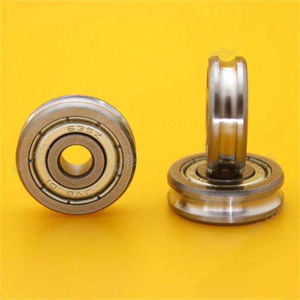 U635ZZ U groove roller wheel pulley ball bearing for 3D printer 5x19x6mm