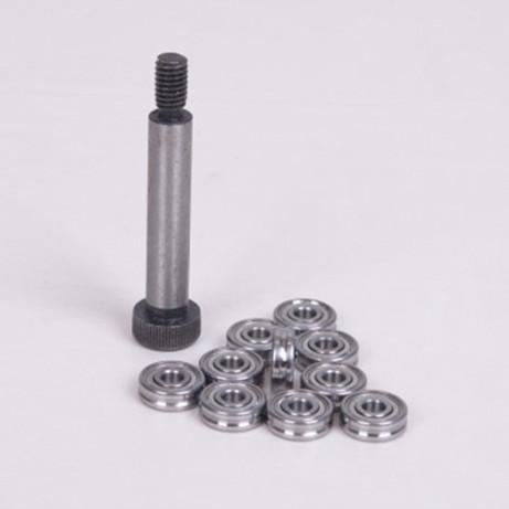 U683ZZ U Groove pulley wheel Track guide roller bearing 3x7x3mm