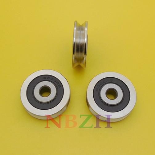 630VV V630-2RS V Groove steel roller guide pulley bearing 6*30*9mm