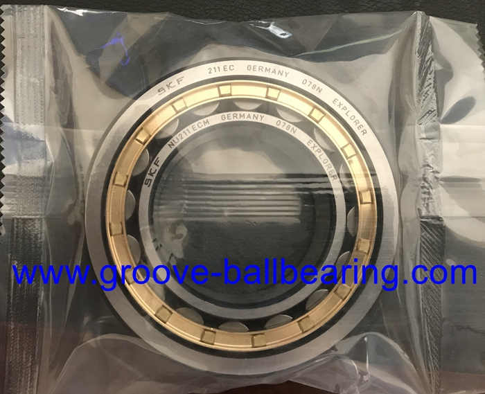 NU211ECM Cylindrical Roller Bearing 55*100*21mm