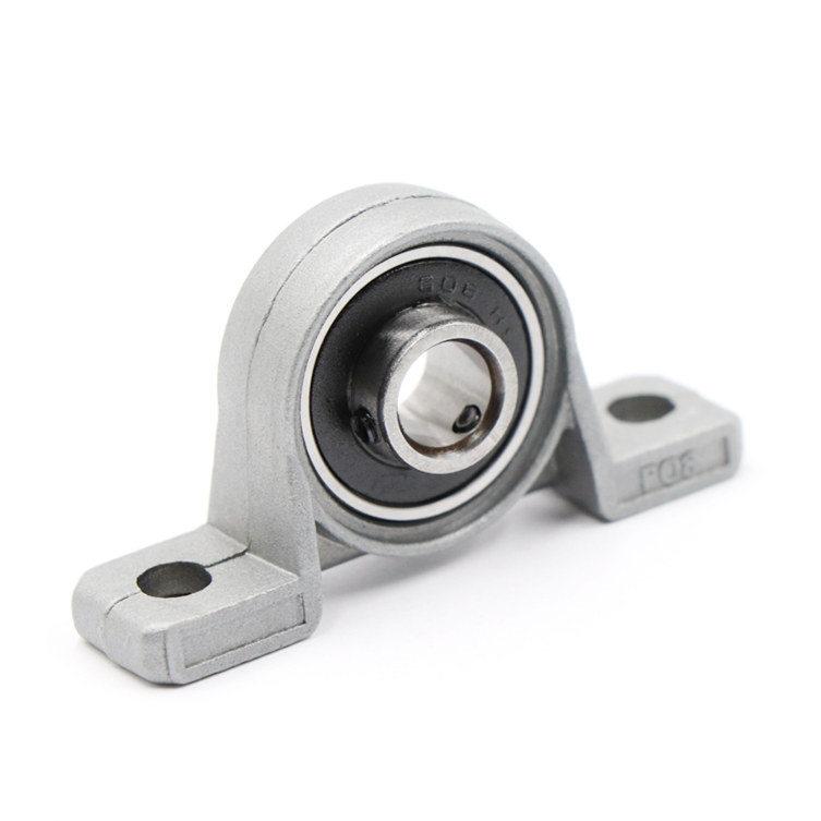KP003 Shaft Support Spherical Roller Zinc Alloy Mounted Pillow Block Housing Bearing 17mm