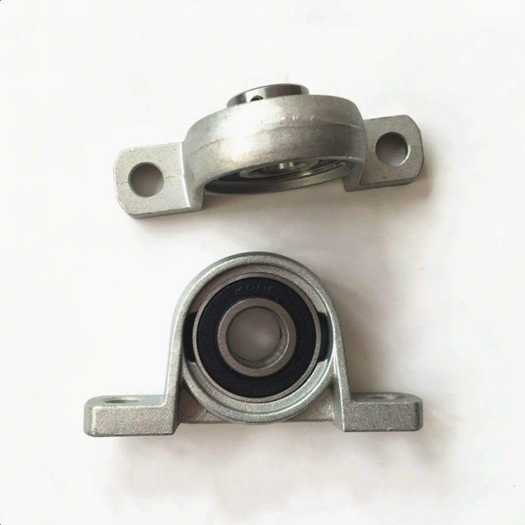 KP007 Shaft Support Spherical Roller Zinc Alloy Mounted Pillow Block Housing Bearing 35mm