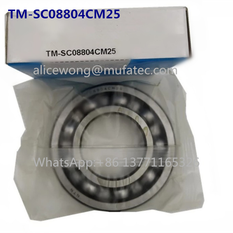 TM-SC08804CM25 High Speed Motor Bearings 40x81x17mm