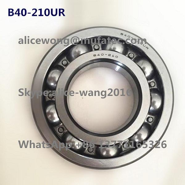 High Speed B40-210UR Auto Gear Box Reducer Transfer Case Bearings 40x80x16mm
