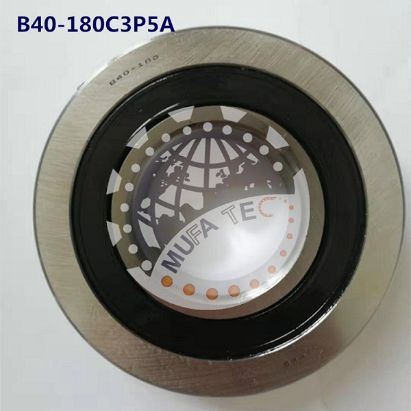 High Speed Ceramic Ball Bearings B40-180C3P5A for Motors 40x90x23mm