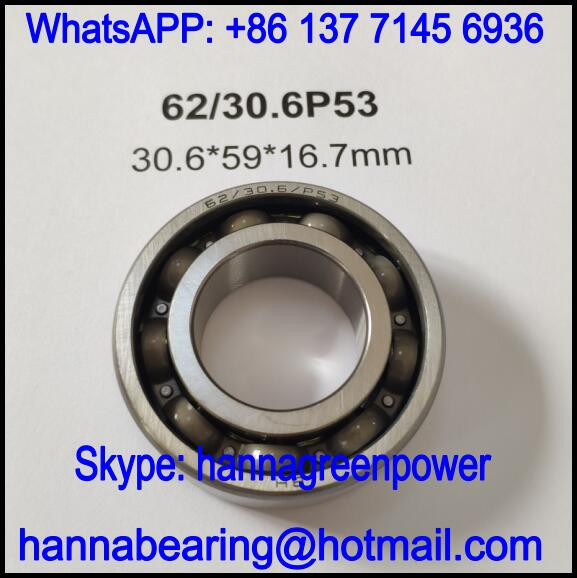 62/30.6P53 Automotive Bearing / Deep Groove Ball Bearing 30.6x59x16.7mm