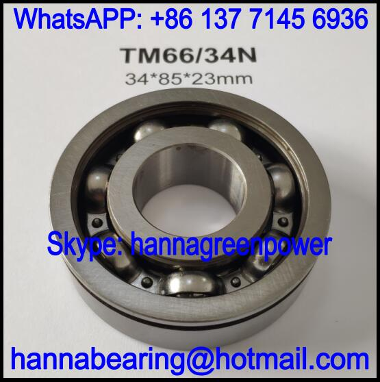 TM66/34 / 66/34 Deep Groove Ball Bearing for Automobile 34*85*23mm