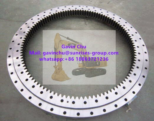 227-6099 1456mmx1950mmx215mm excavator slewing bearing