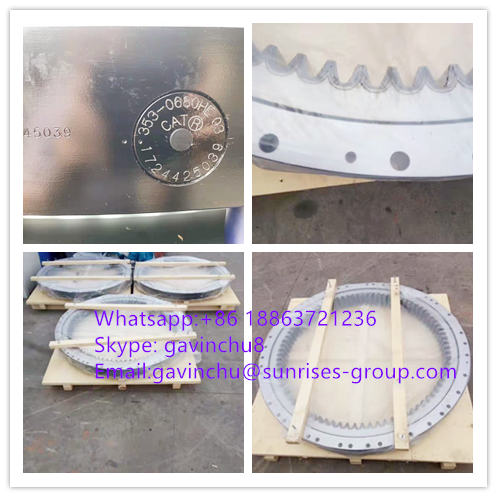 353-0680 CAT excavator slewing bearings