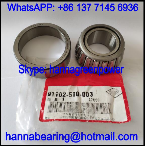 911025T0003 Automobile Tapered Roller Bearing 25*51*17/21mm
