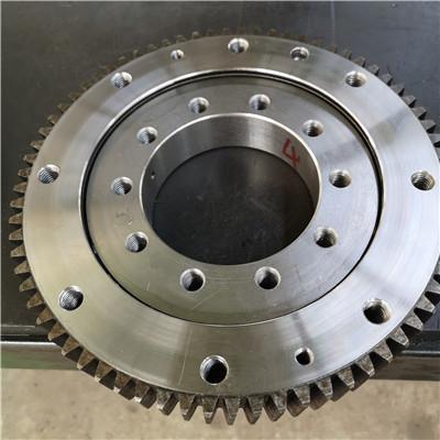RKS.162.16.1644 Crossed roller slewing bearings(1752*1495*68mm) with internal gear for Industrial robot