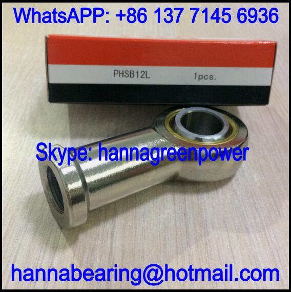 PHSB4L / PHSB 4 L Rod End Bearing with Internal Thread 6.35x19.05x42.85mm