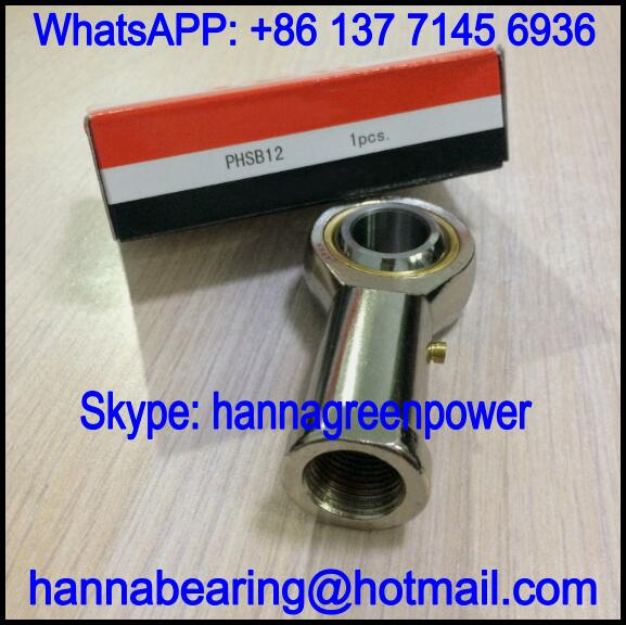 PHSB12 / PHSB 12 Rod End Bearing with Internal Thread 19.05x44.45x95.25mm