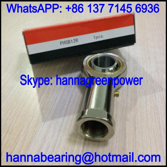 PHSB12R / PHSB 12 R Rod End Bearing with Internal Thread 19.05x44.45x95.25mm