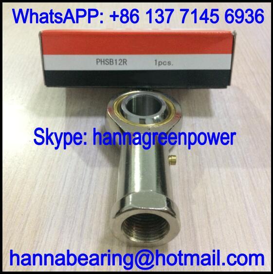 PHSB6R / PHSB 6 R Rod End Bearing with Internal Thread 9.525x25.4x53.98mm