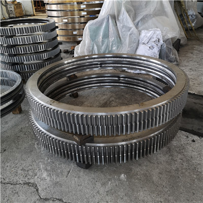 MTO-324T No Gear Slewing Ring Bearings (20.486*12.75*2.062inch) for Work positioners