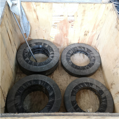 L6-43E9ZD Slewing Rings(46.87*38.74*2.2inch) with External Gears for Mining and Forestry equipment