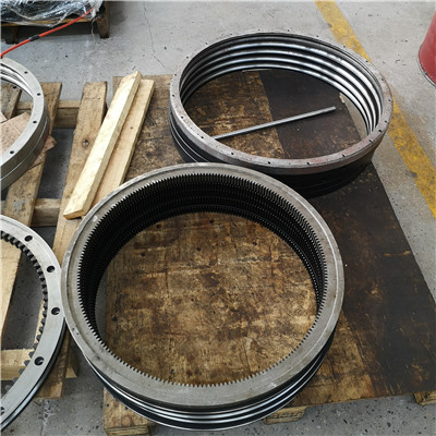 A8-17N4D internal gear slewing ring bearing(20.48*12.748*2.13inch) for Sewage and water treatment equipment