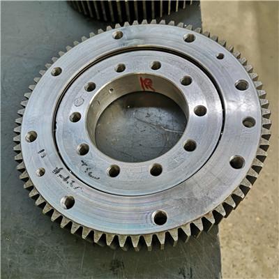 R11-71N3 outer gear cross roller slewing ring bearings(77.6*61.371*3.858inch) for Radar antennas
