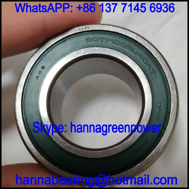 30TMD03U40AT Automobile Bearing / Deep Groove Ball Bearing 30x53.5x21mm