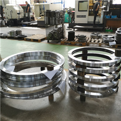 SD.1500.32.00.C Flange light type slewing ring gear(1500*1205*90mm) for truck trailer