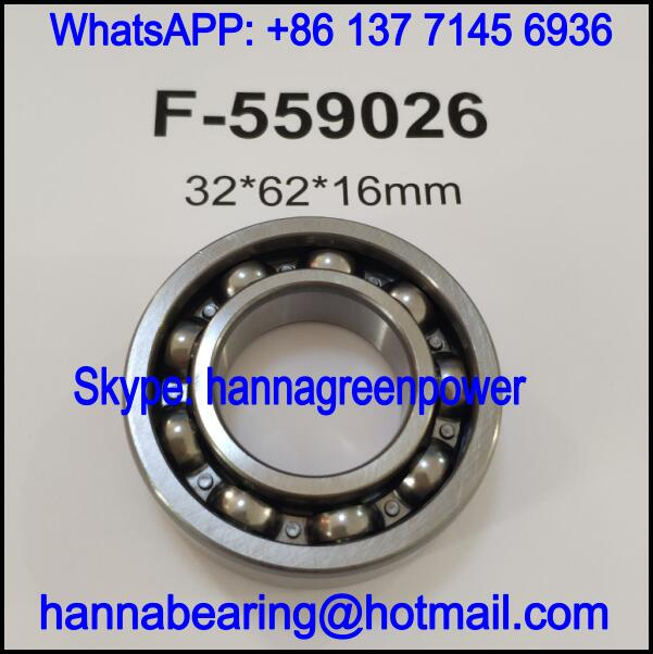 F-559026 Automobile Bearing / Deep Groove Ball Bearing 32x62x16mm