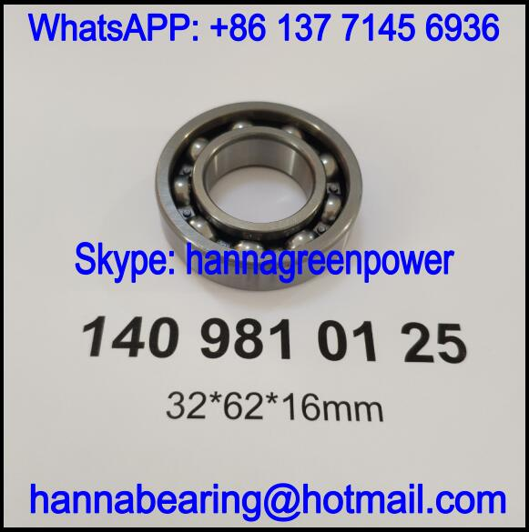 1409810125 / 140 981 01 25 Automotive Deep Groove Ball Bearing 32*62*16mm