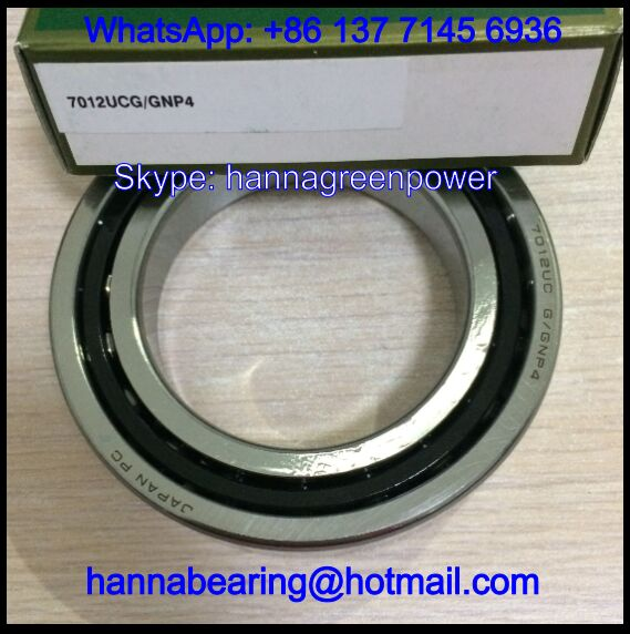 7012UC Angular Contact Ball Bearing 15º Contact Angle 60x95x18mm