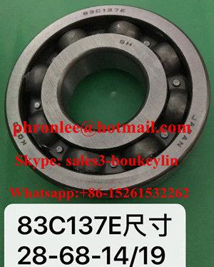83C137E Deep Groove Ball Baering 28x68x14/19mm