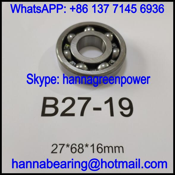 B27-19 Automobile Bearing / Deep Groove Ball Bearing 27x68x16mm