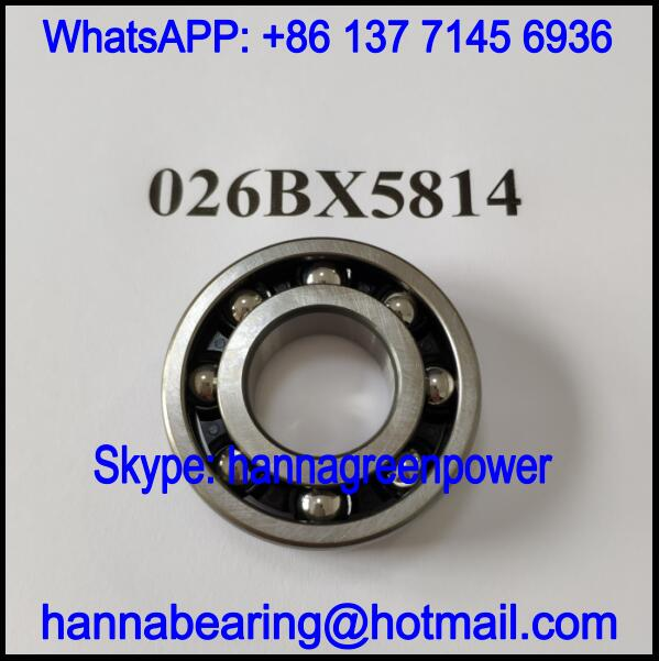 026BX5814 Automobile Deep Groove Ball Bearing 26.8x58x14mm