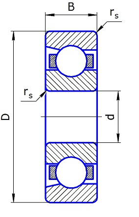 46310L single row angular contact ball bearings 50*110*27