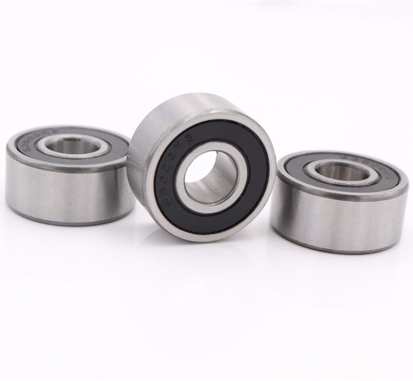 63001 2RS deep groove ball bearings 12x28x12mm