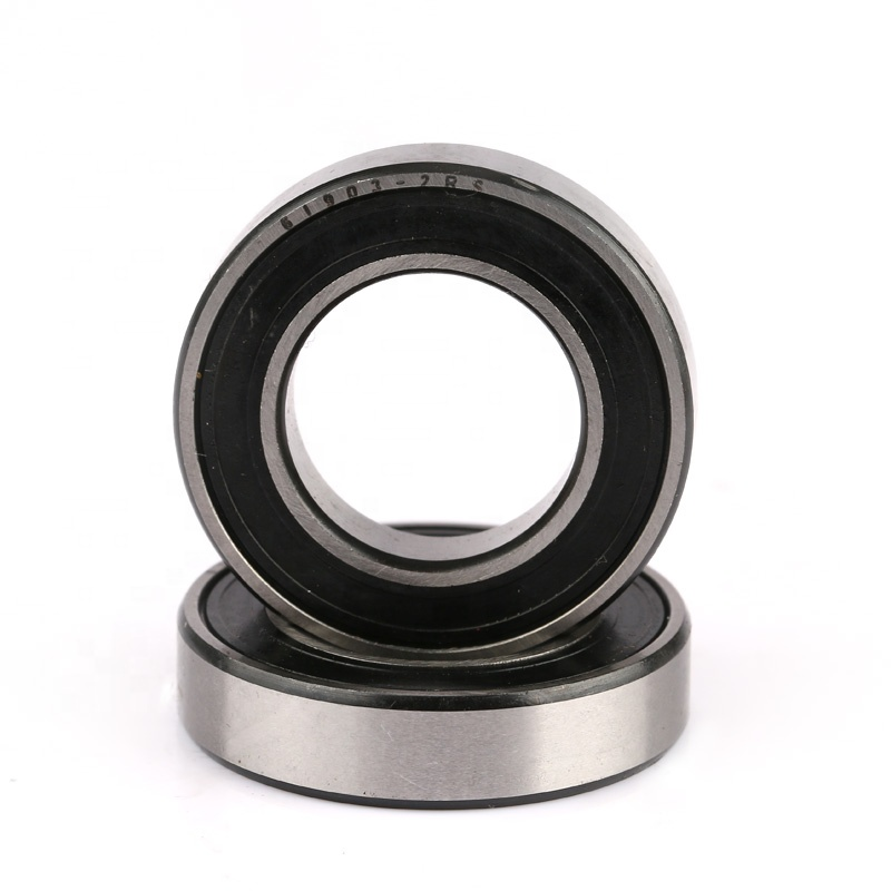 61903 2RS thin wall bearing 17*30*7mm