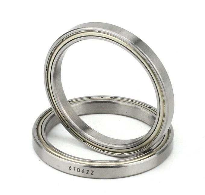 6706ZZ (61706ZZ) thin section ball bearing 30x37x4mm