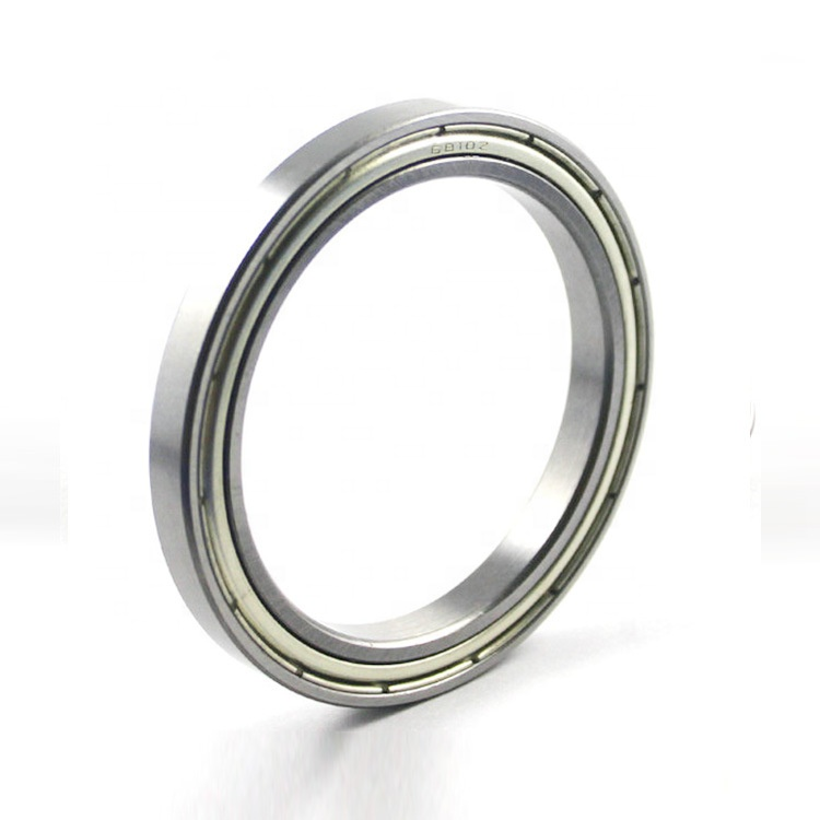 6810ZZ thin section deep groove ball bearing 50x65x7mm